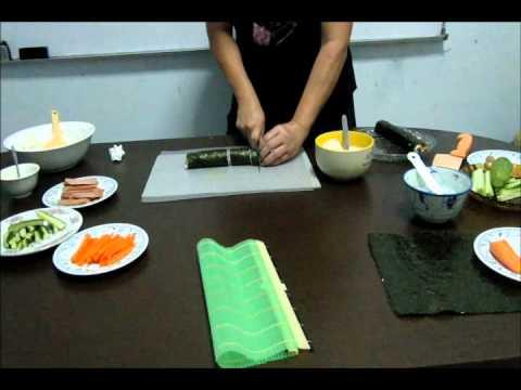 Video Cara Membuat Sushi