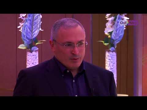 Михаил Ходорковский в Берлине: о смене власти в России. Интервью Ольги Романовой