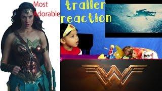 Wonder Woman Official Trailer 2 Most Adorable reaction