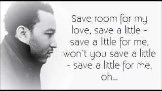 Watch John Legend Save Room video