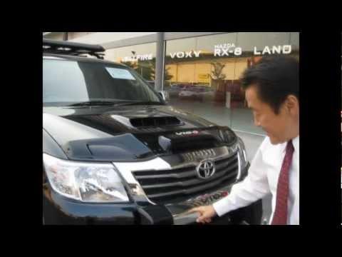 Review 2012-2013 Toyota Hilux Vigo Champ 4x4  with  Special Accessory