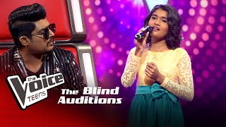 Govindi Vidusara | Kalambee Tharanga Blind Auditions | The Voice Teens Sri Lanka