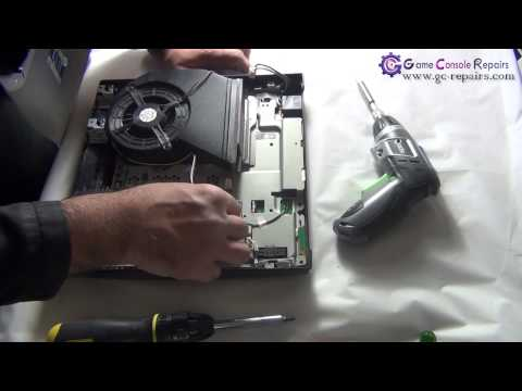 PS3SLIM   250GB CECH 2002x   Disassembly   FULL by gc repairs com