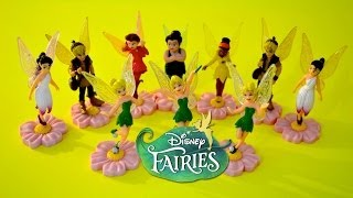 "Disney Fairies -10 Blind bags of Tinkerbell Fairies from Movie ""Tinkerbell And The lost Treasure"""