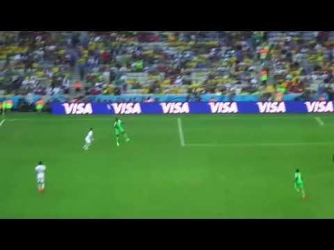 Brazil World Cup 2014 - Iran X Nigeria- Arena Da Baixada, Curitiba 16 06 video