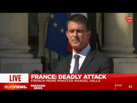 Discours du premier ministre Manuel Valls