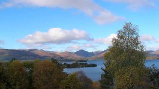 Loch Lomond - Autumn 2010 in Scotland (By Yon Bonnie Banks - Song)