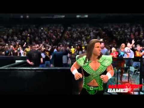 WWE 2k15  HBK ENTRANCE HIDDEN