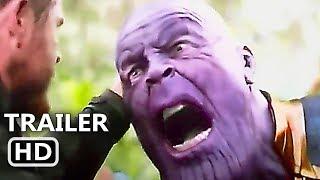 AVENGERS INFINITY WAR Extended Blu-Ray Trailer (2018) 4K Ultra HD
