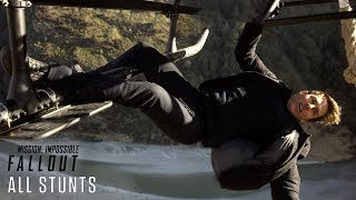 "Mission: Impossible-Fallout (2018)- ""All Stunts""- Paramount Pictures"