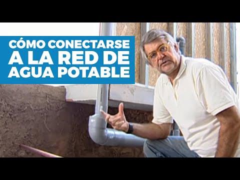 C mo conectarse a la red de agua potable for Llave lavamanos sodimac