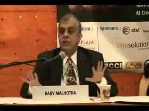 Rajiv Malhotra explains the genesis of the Aryan Dravidian Myth...