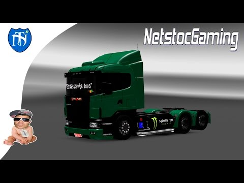 ETS2. Mod Reviews. Scania R400 v1 ETS2 1.15.XX By Robert Lima + Download