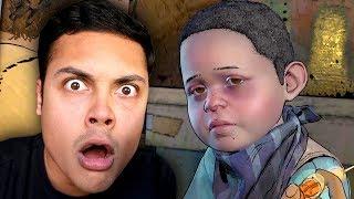 WHAT HAPPENED TO AJ 😭 (The Walking Dead Season 3)