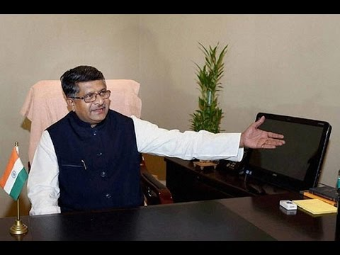 EXCLUSIVE : Interview With Ravi Shankar Prasad Over 1 Year OF Modi Govt !!!
