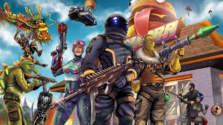 Livestream #608 - FORTNITE - Sem roubar loot so vai