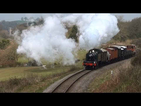 West Somerset Railway Spring Steam Gala 2014