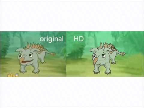 yee original vs HD side by side comparison