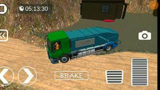 Off road garbage truck simulator || auto and vehicles