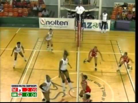Trinidad & Tobago vs Suriname Set 3 - Caribbean Volleyball Championships 2014