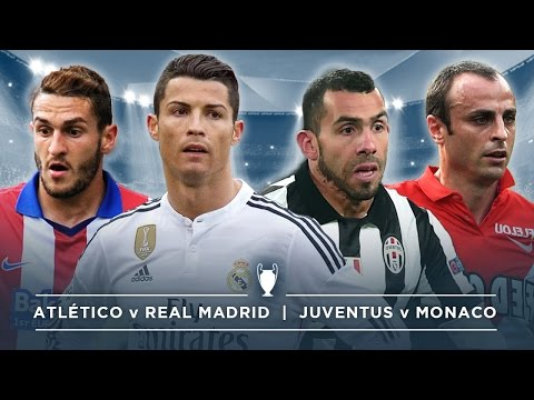 #FDW UCL PREVIEW: ATLÉTICO v REAL MADRID, JUVENTUS v MONACO