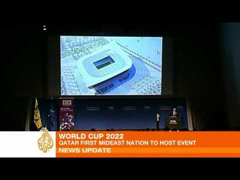 Qatar wins right to host 2022 World Cup finals