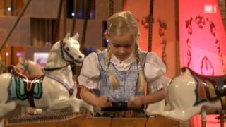 Nicolas Senn Hammered Dulcimer Duet With 8 Year Old Alessia 2010