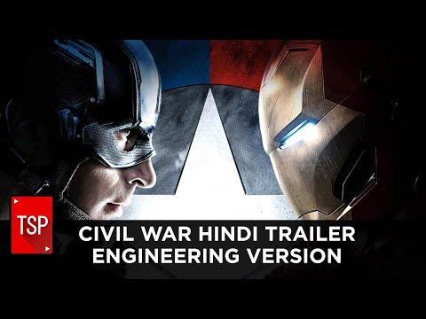 Civil War Hindi Trailer    Engineering Version   TSP Fukrapanti DumbSmash Ep. 3