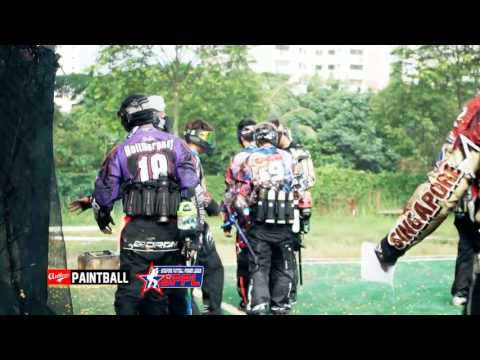 ROOKIE AND CHALLENGER DIVISION Highlights 1 Day 2 - LEG 1, Singapore Paintball Premier League 2016