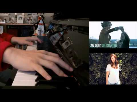 Lana Del Rey 'Life is Beautiful' -­ The AGE OF ADALINE (Advanced Piano Cover)