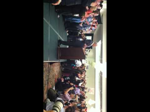Ron Paul rally in Springfield, Virginia