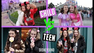 CHILD VS TEEN YOU | IN DISNEYLAND