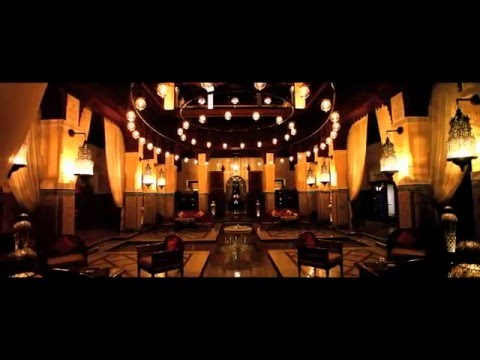 ROYAL MANSOUR, MARRAKECH - MOROCCO - LUXURY HOTEL AFRICA TRAVEL RESORT FILM