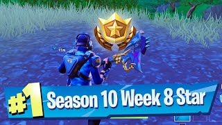 Fortnite Season 10 Week 8 Secret Battle Pass Star Location