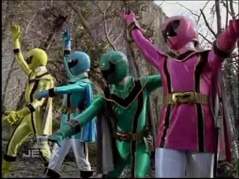 Power Rangers Mystic Force - Rangers Morph 1