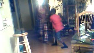 Brother and Sister fake fight