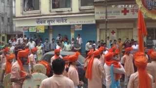 Raja shivchatrapati taal Yuvanaad dhol pathak,Panvel