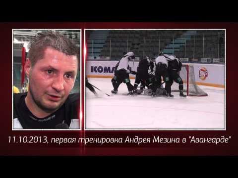 "Андрей Мезин подписал контракт с ""Авангардом"""