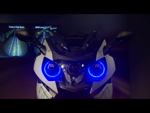 BMW Connected Ride at 2016 CES
