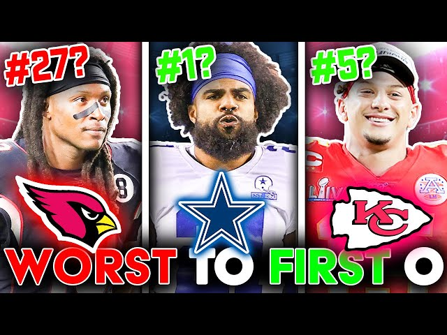 Ranking all 32 NFL Offenses for 2021 from WORST to FIRST