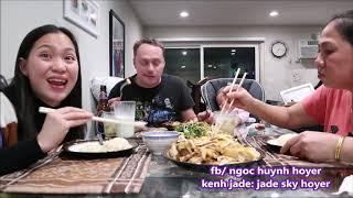 Vlog 382 ll Ăn Cơm Gà Ăn Mừng Ngọc Thi Đậu Quốc Tịch Mỹ YEAHHHH