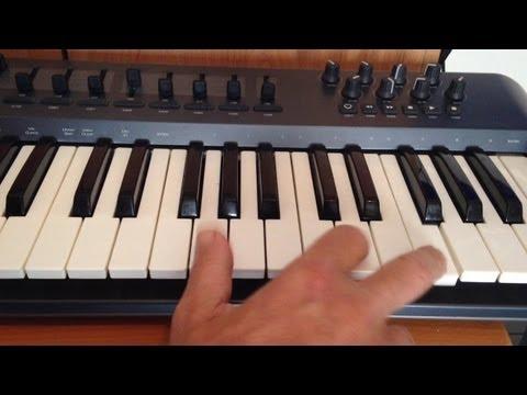 Cómo funcionan los teclados midi y los sintetizadores