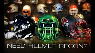 Does Type of Paint Matter?  OF COURSE! Must Watch BEFORE You Paint Your Football Helmet.
