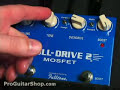 Fulltone Fulldrive 2 MOSFET   - Part 2 Stratocaster