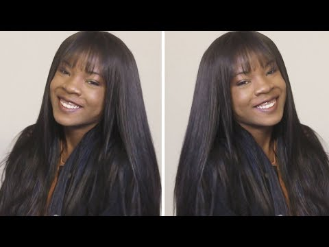 How To Do A Full Sew In with BANGS: Beginner Friendly Tutorial & SuperNova Hair Giveaway