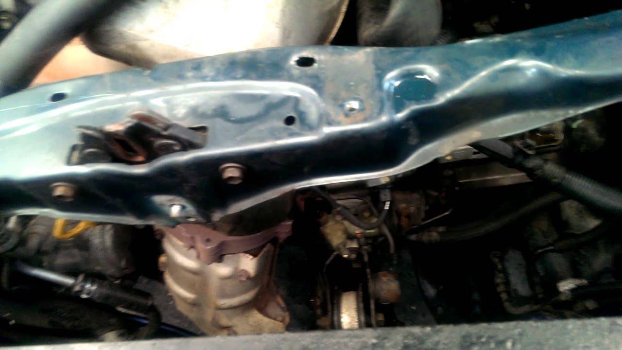 Toyota Rav 4 Radiator Removal Replacement Youtube