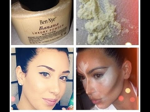 Review: Ben Nye Banana Powder! Concealing & Brightening in 1 step!