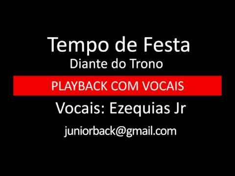 Tempo De Festa - Diante Do Trono - Pb Com Vocais By Ezequias Jr. video