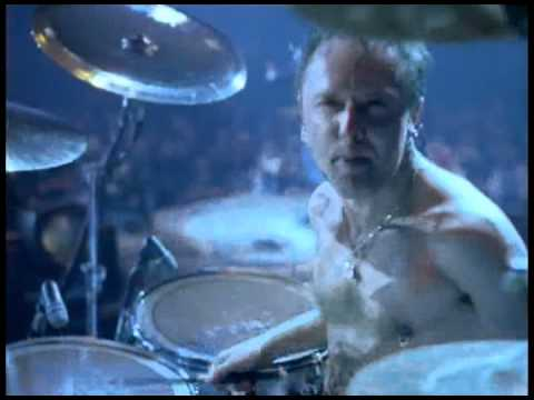 Metallica - For Whom The Bell Tolls (Lars Angle) Cunnings Stunts Music Videos