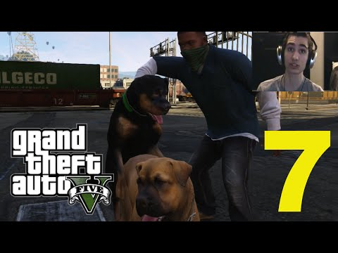 Grand Theft Auto V - Part 7 - Gay Dog Sex! video